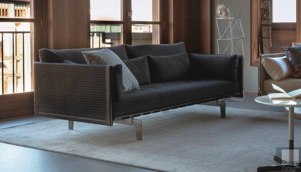 Poltrona Frau Clayton 2-Seater Sofa