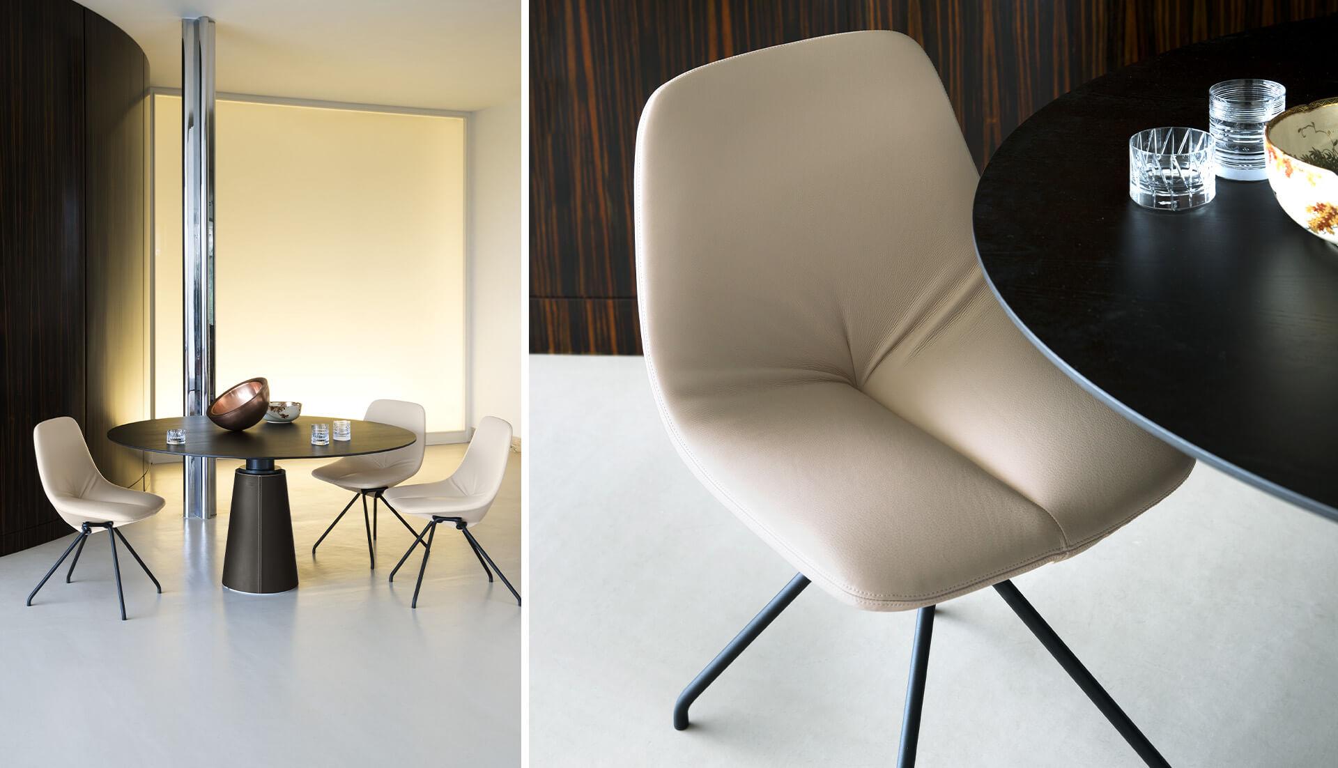 Poltrona Frau DU 30 Chair
