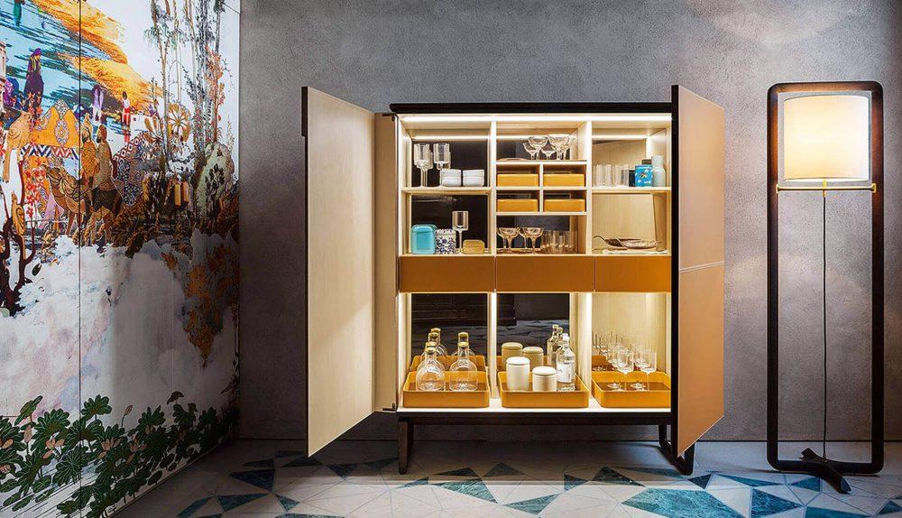 Poltrona Frau Fidelio Bar Cabinet