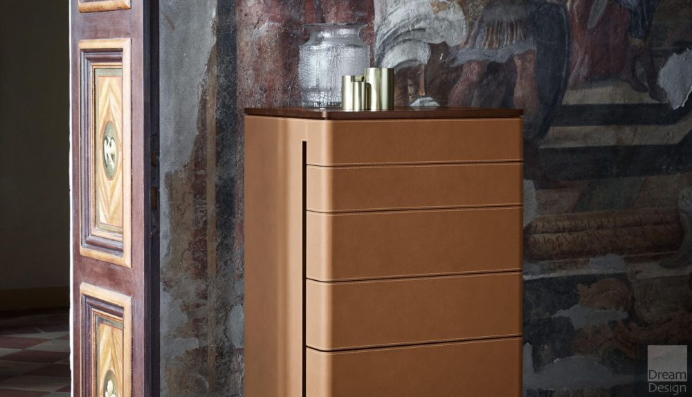 Poltrona Frau Fidelio Notte High Drawer Chest