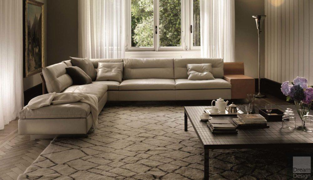 Poltrona Frau Grantorino Modular Sofa