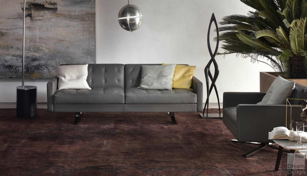 Poltrona Frau Kennedee JR 2-Seater Sofa