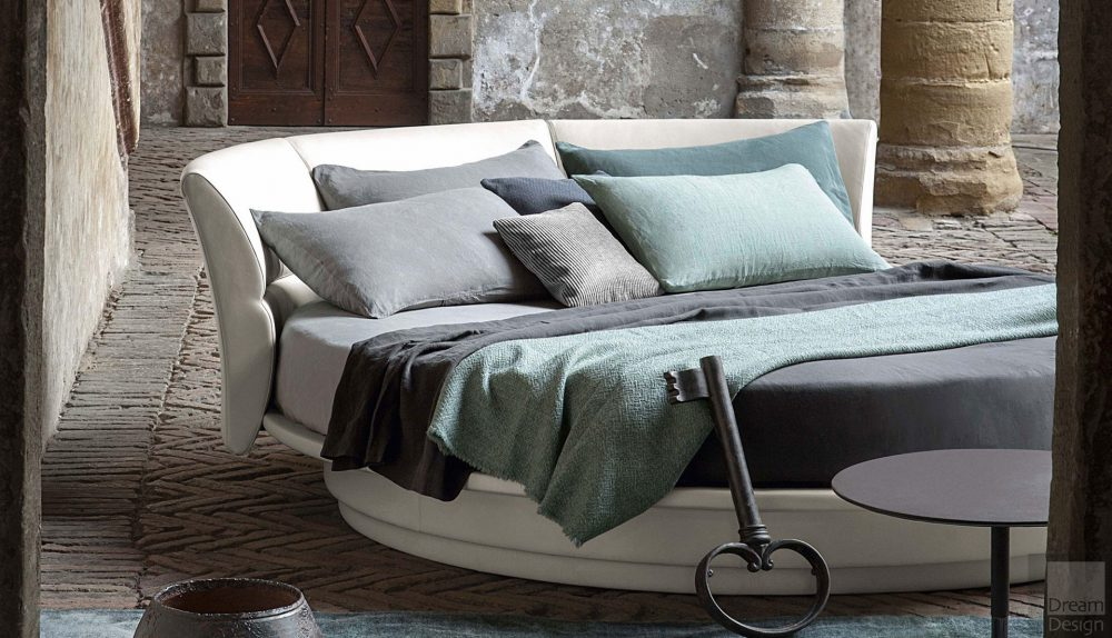 Poltrona Frau Lullaby Due Circular Bed
