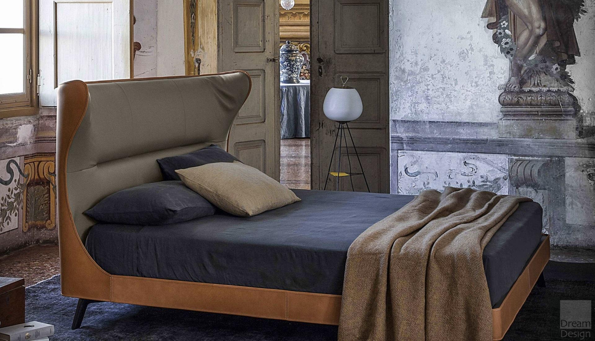 poltrona frau mamy blue bed dream design interiors ltd. Black Bedroom Furniture Sets. Home Design Ideas