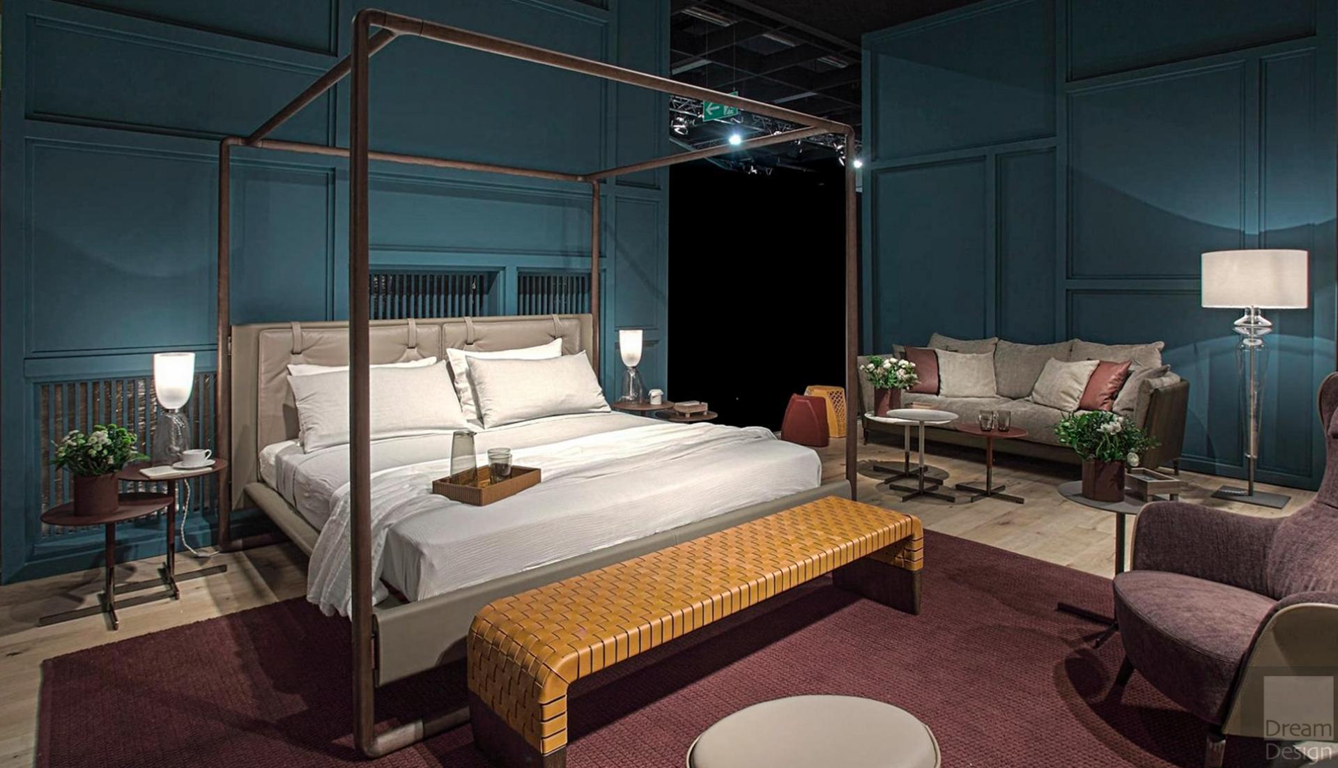 Poltrona Frau Volare Bed Dream Design Interiors Ltd