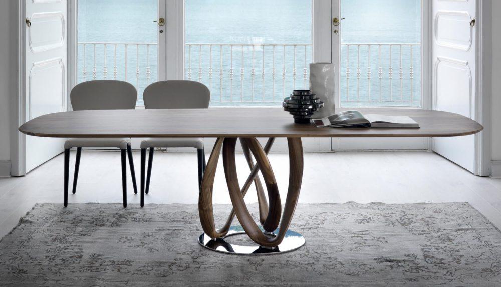 Porada Infinity Wood Table