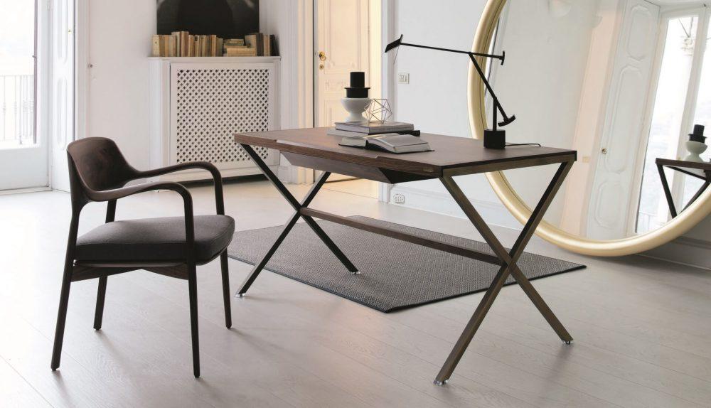 Porada Stylo Wood Desk