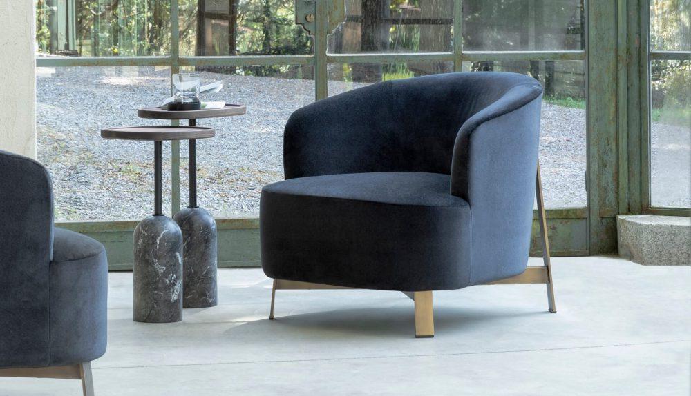 Porada Copine Steel Armchair