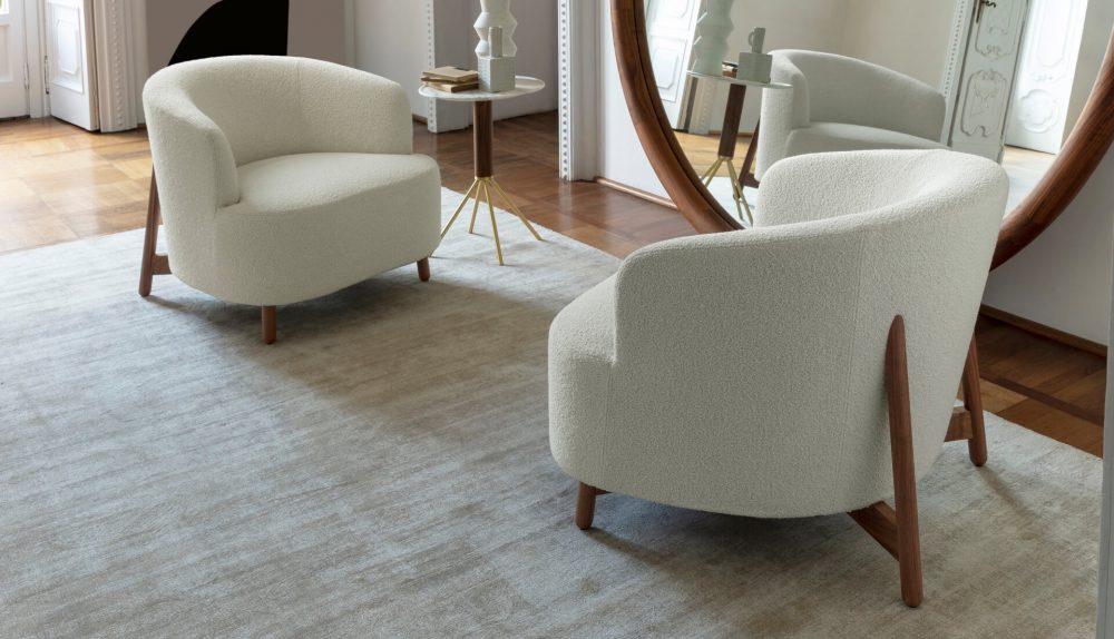 Porada Copine Wood Armchair