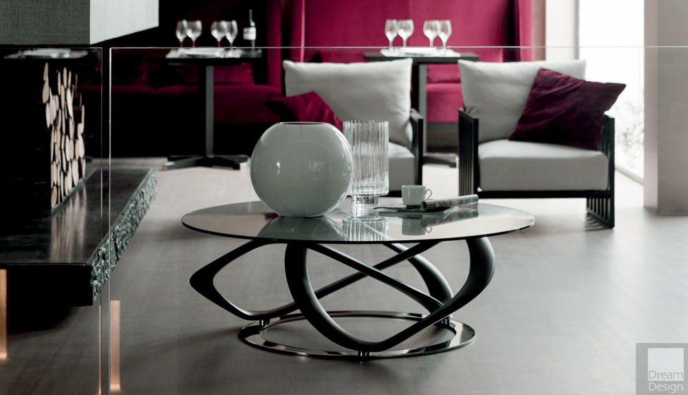 Porada Infinity Round Coffee Table