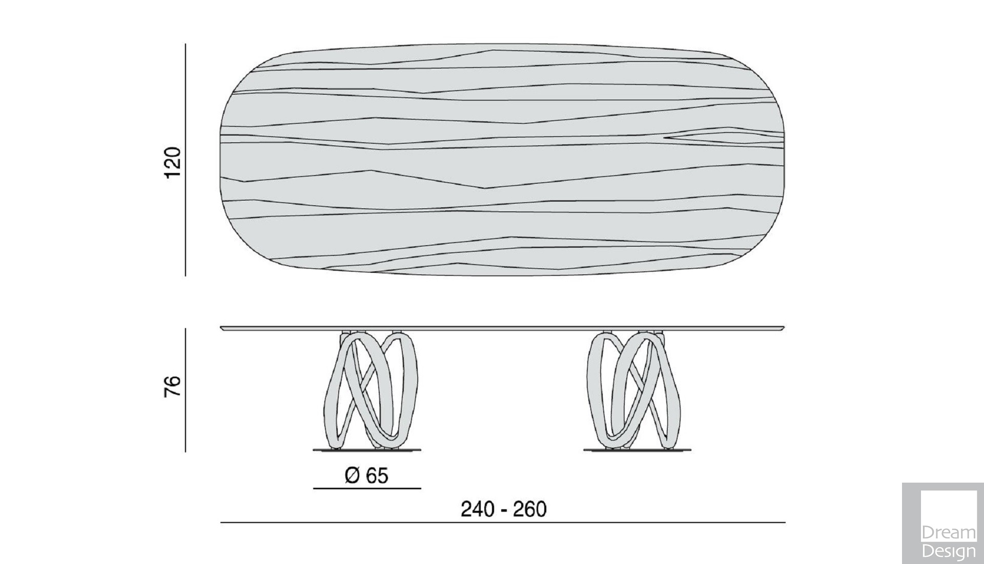 31 May Porada Infinity Tavolo Ovale 2 Base Table 02