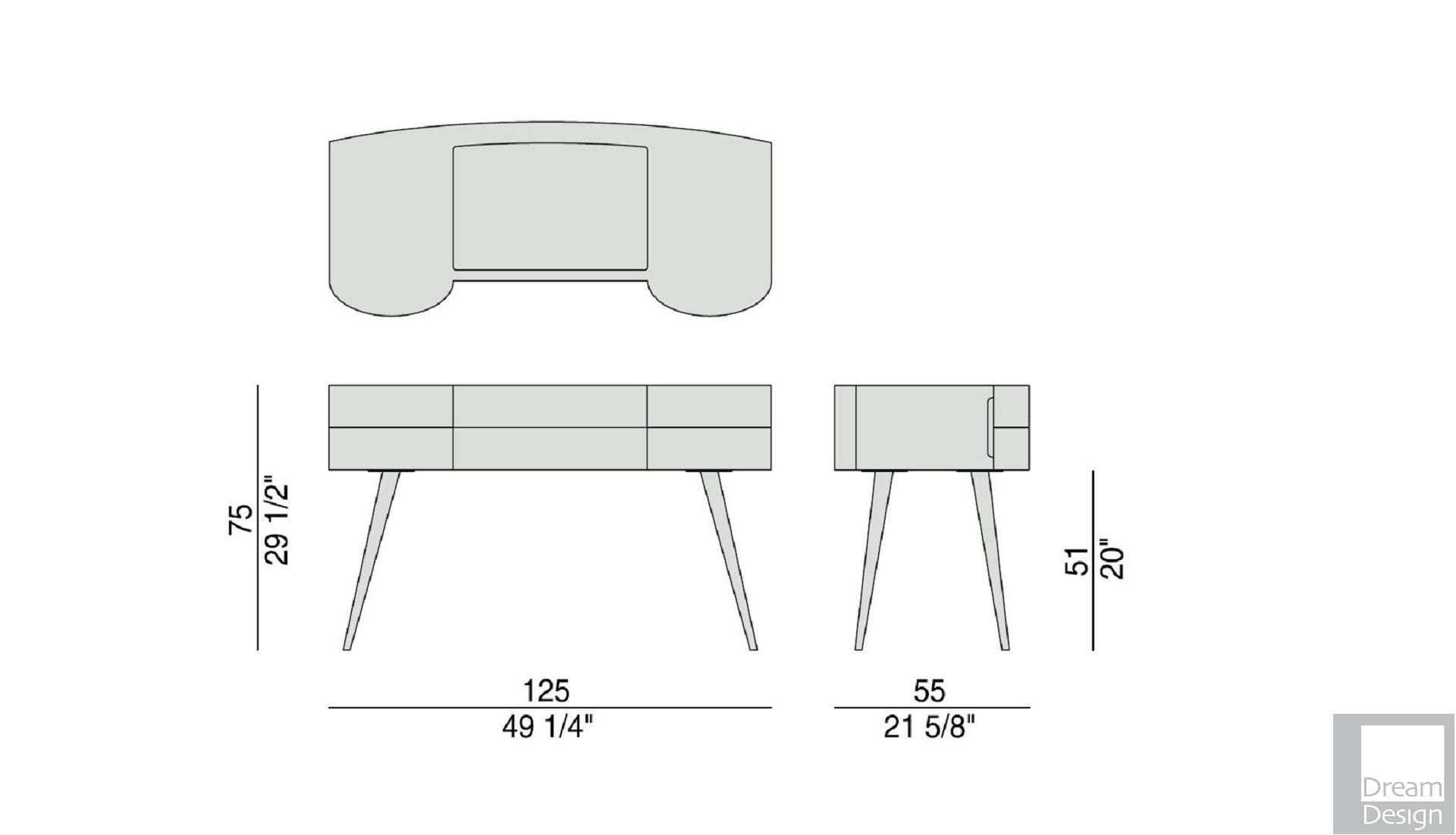 Porada micol dressing table dream design interiors ltd for Porada beauty dressing table