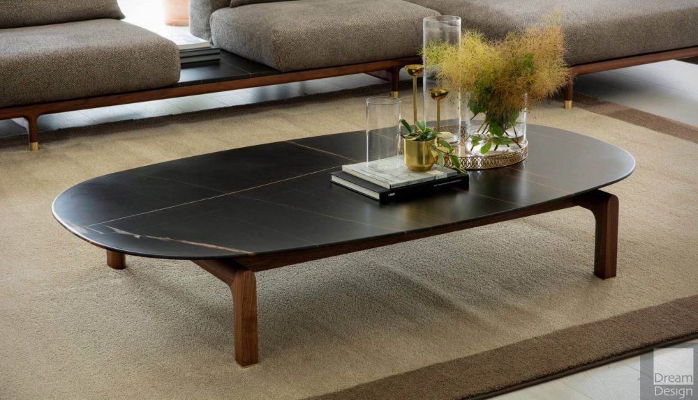 Porada Quay Oval Coffee Table