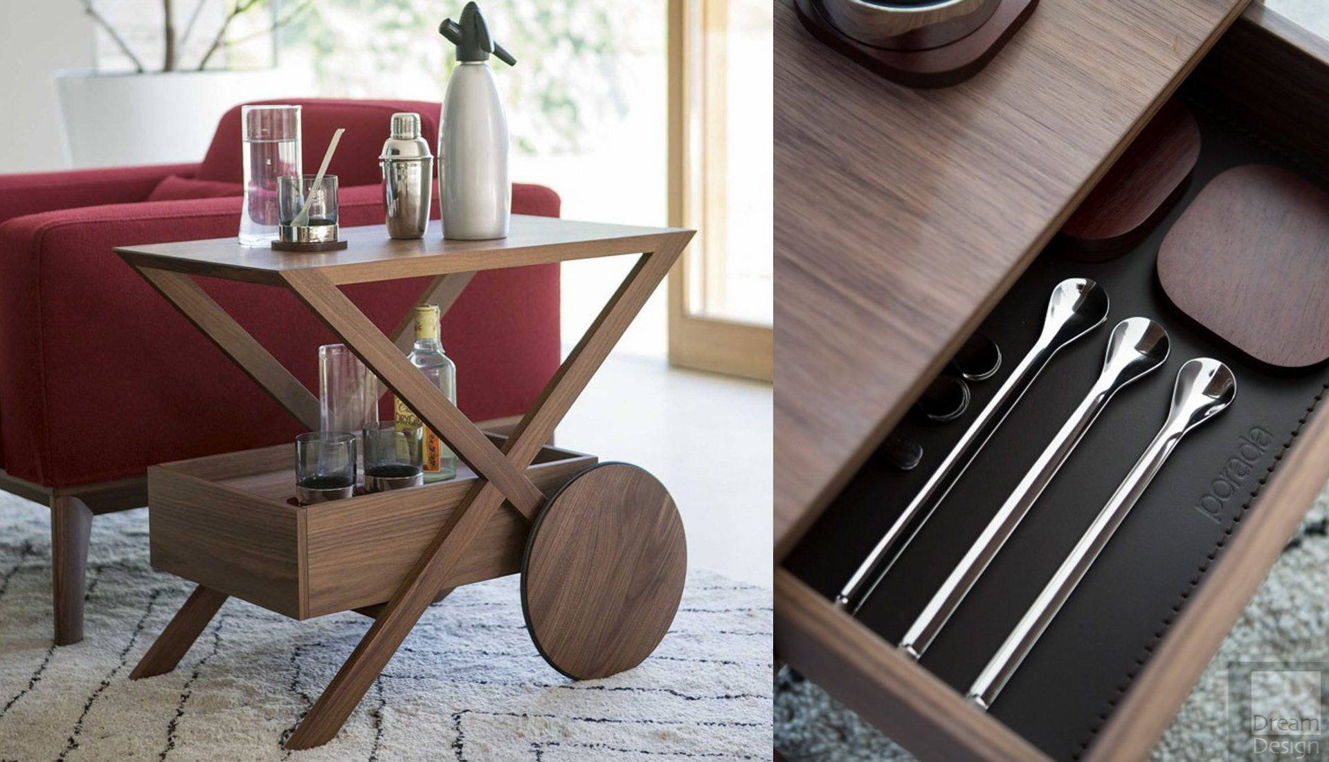 Porada Spritz Drinks Trolley