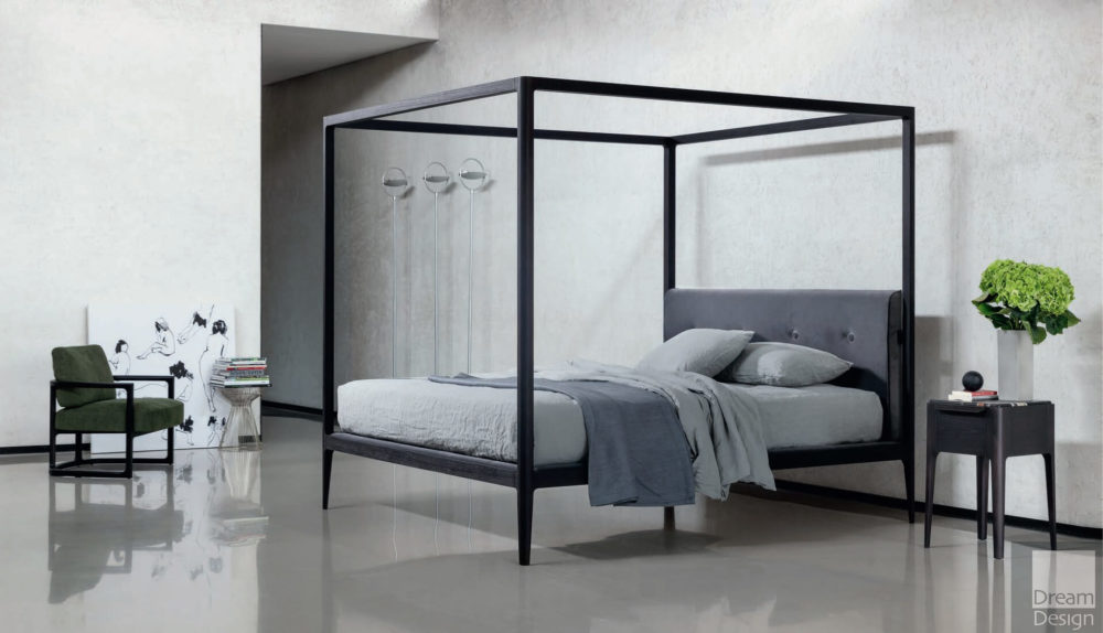 Porada Ziggy Four-Poster Bed