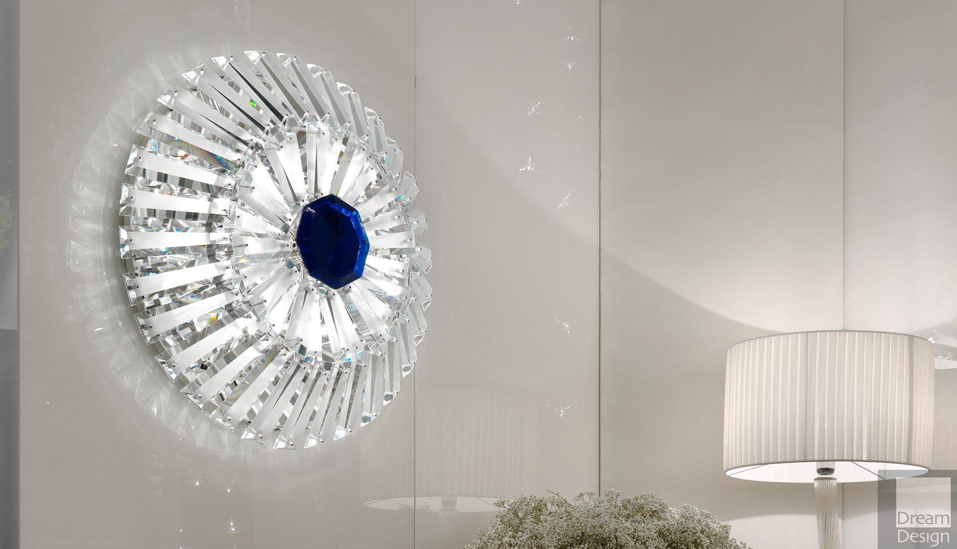 Reflex Angelo Diamante Applique Wall Light