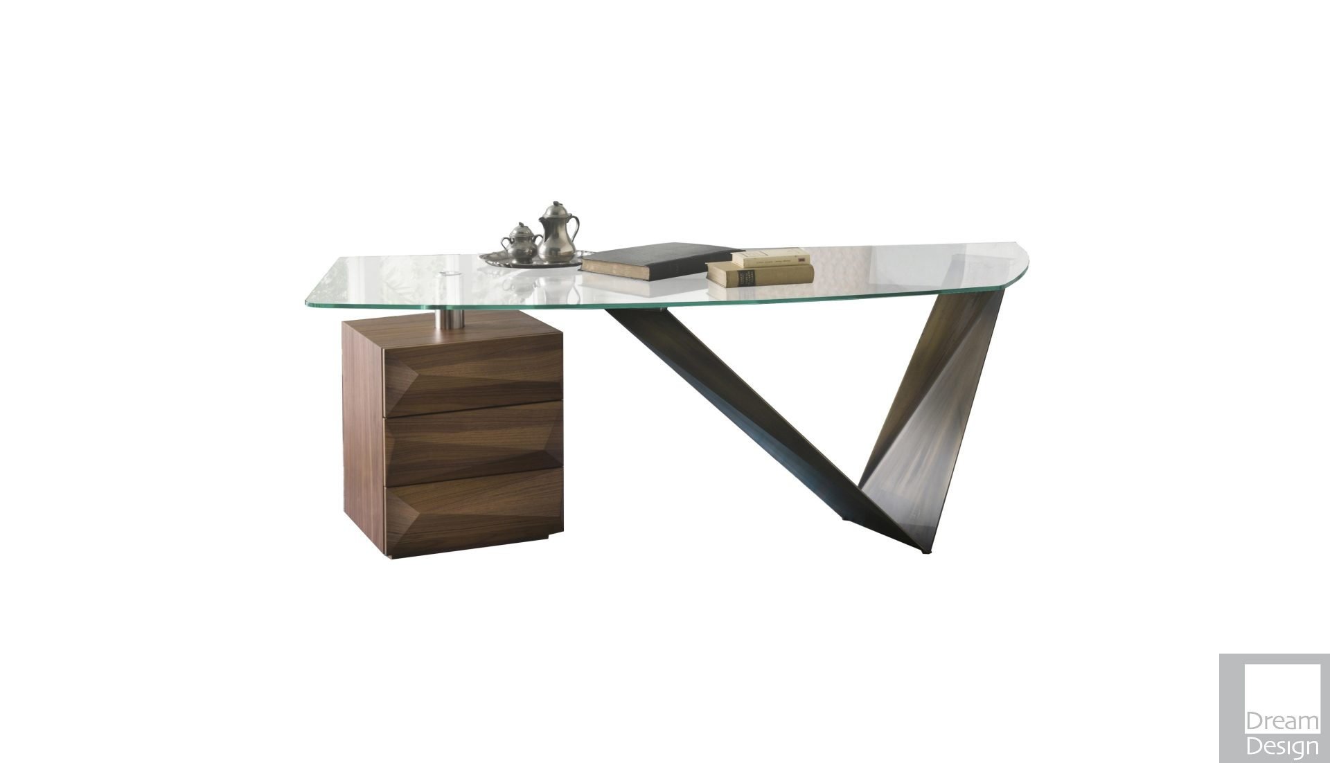 Reflex Angelo Prisma Steel Desk