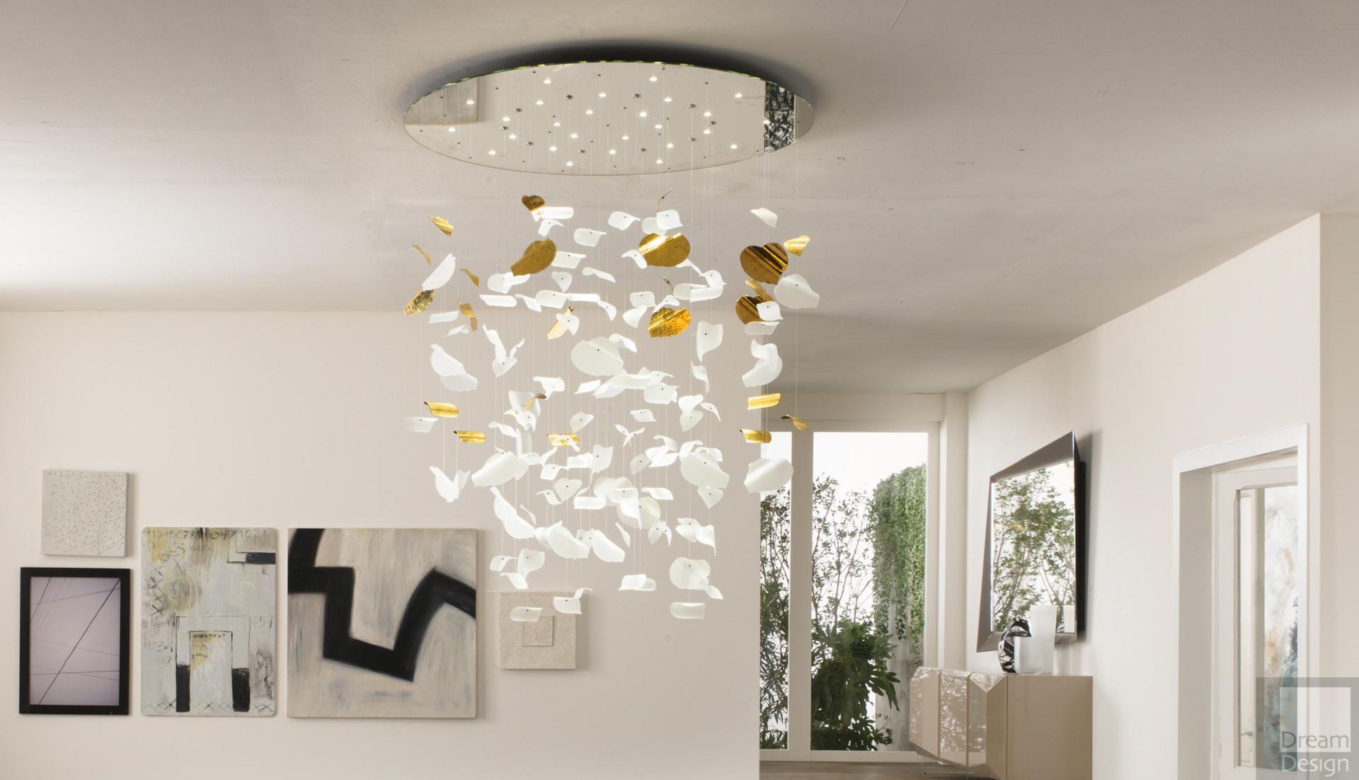 Reflex Angelo Leaf Chandelier - Dream Design Interiors Ltd
