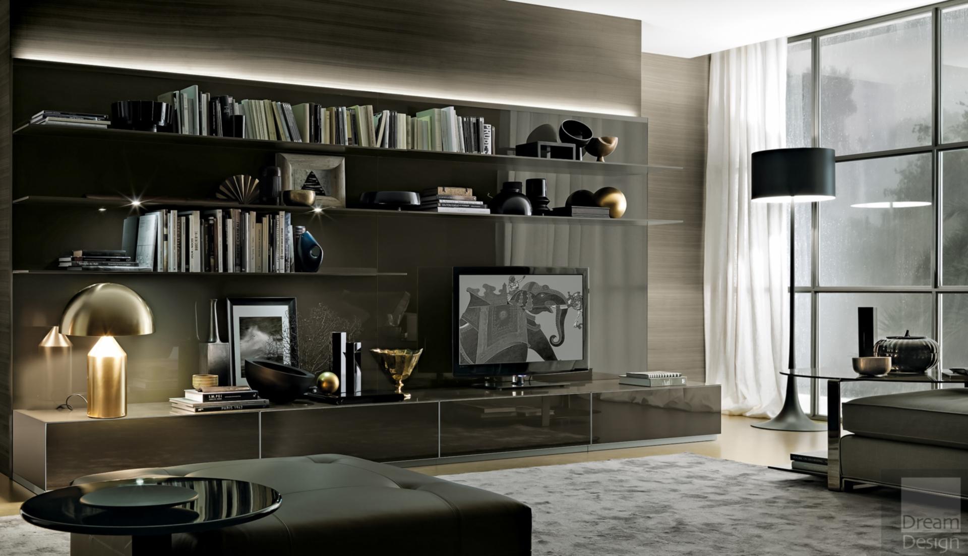Rimadesio Abacus Cabinet System Dream Design Interiors Ltd