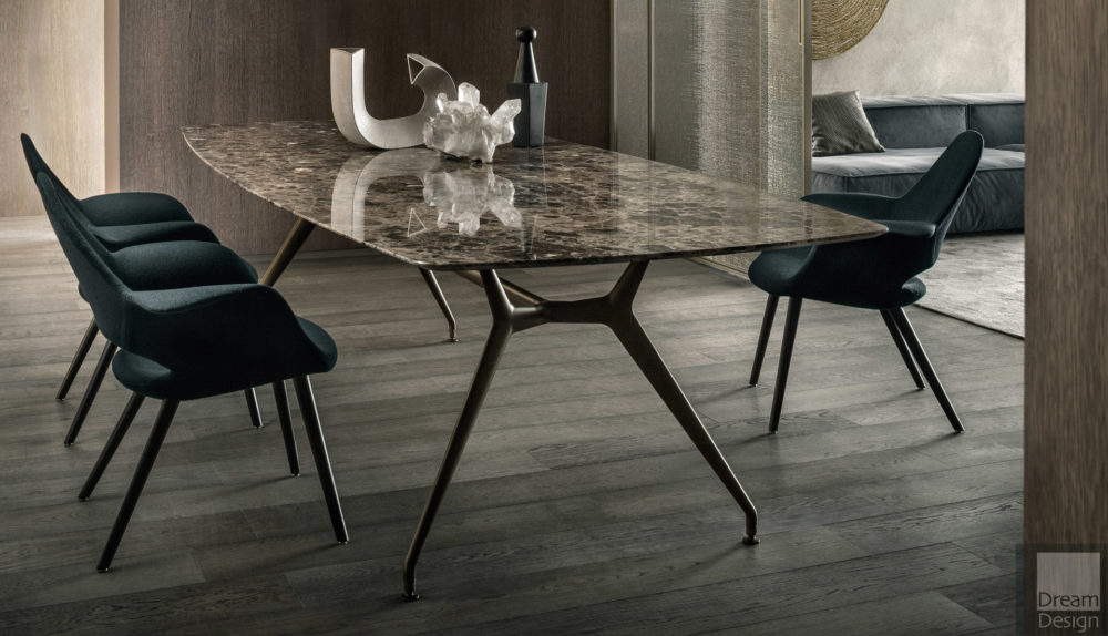 Rimadesio Manta Rectangular Dining Table