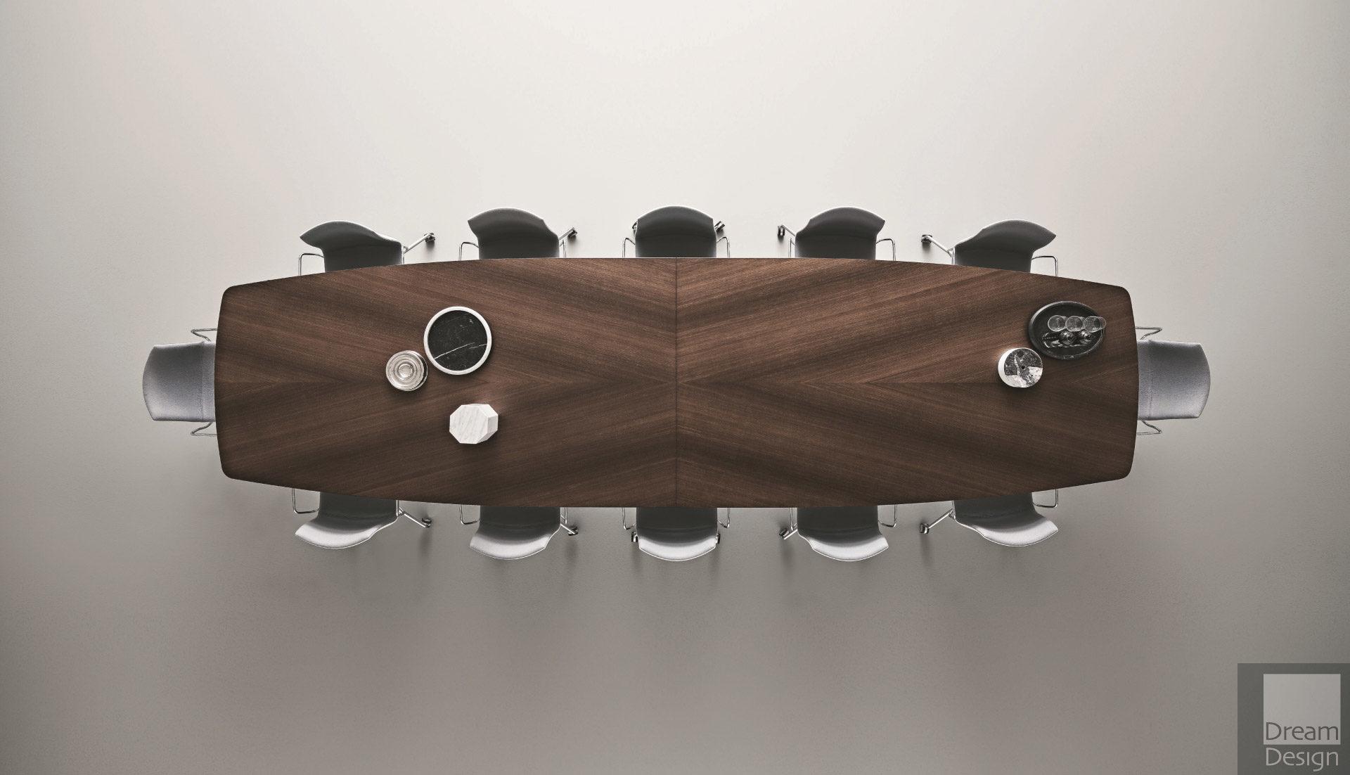Rimadesio Manta Rectangular Dining Table