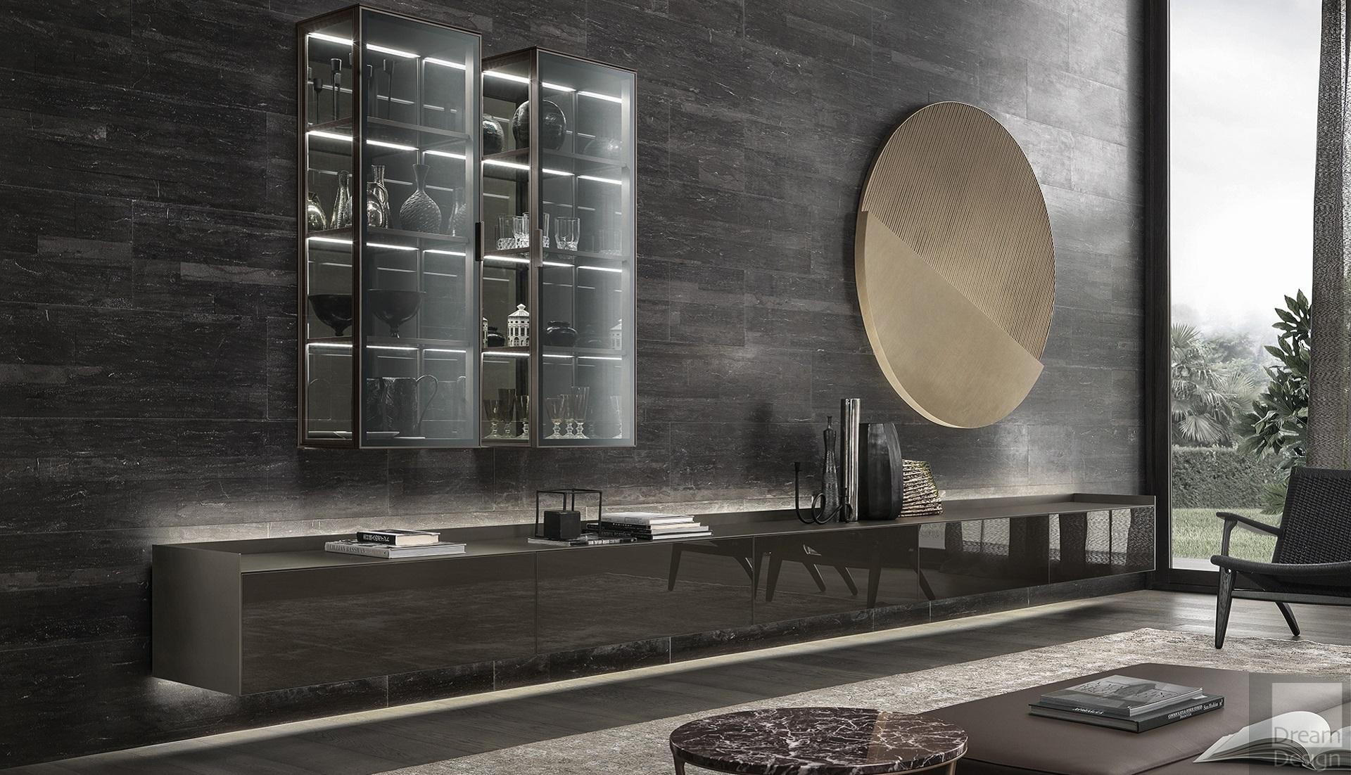 rimadesio self bold cabinet dream design interiors ltd. Black Bedroom Furniture Sets. Home Design Ideas
