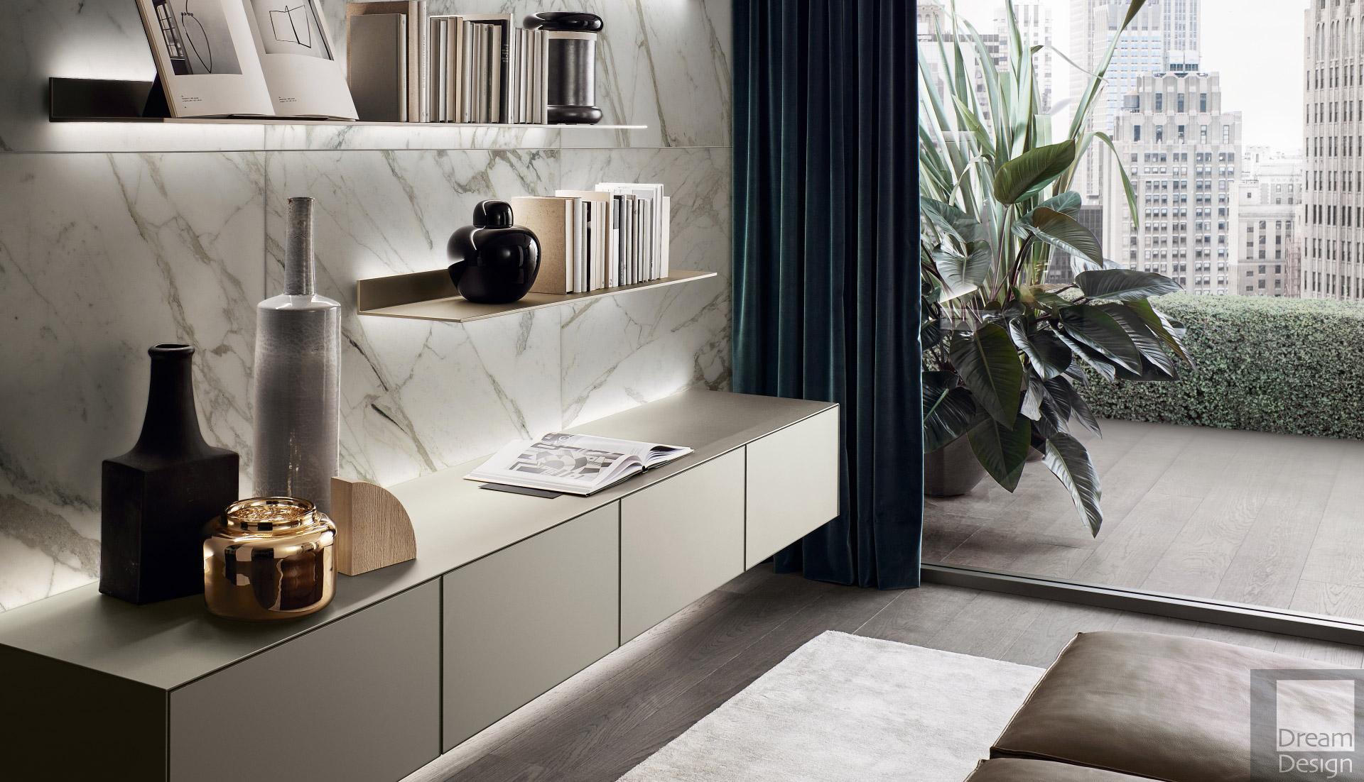 Rimadesio Self Cabinet System Dream Design Interiors Ltd