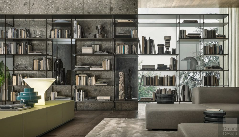 Rimadesio Wind Book Shelving