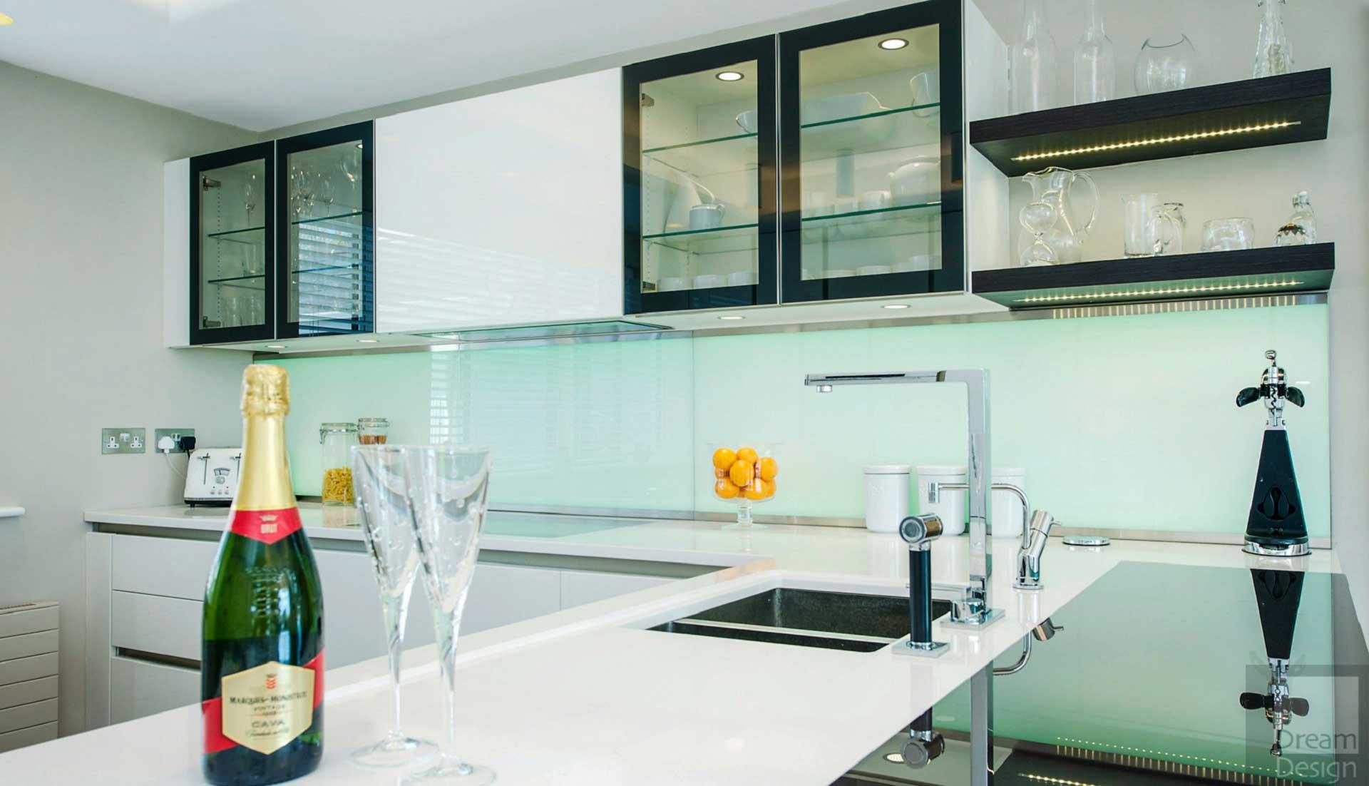 Milford Cliff House - Dream Design Interiors Ltd